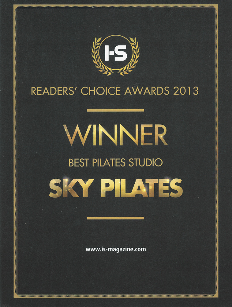 2013 I-S-Readers Choice Awards Winner
