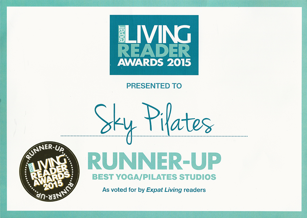 2015 Expat Living Reader Awards 1st-Runner-Up